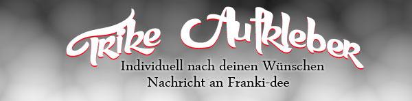 Trike Aufkleber (franki-dee)